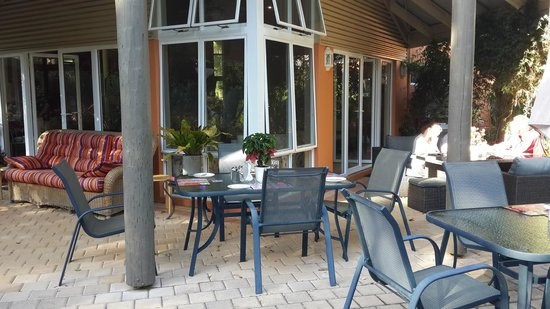 Margaret River Bed & Breakfast: terrace