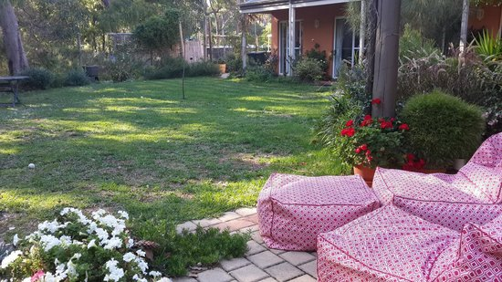 Margaret River Bed & Breakfast: beautiful garden