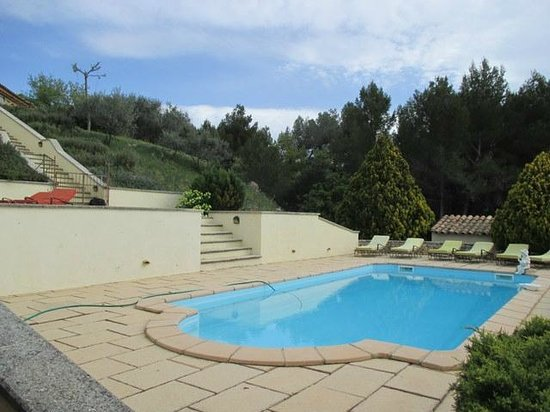 Chez Soi en Luberon : piscine