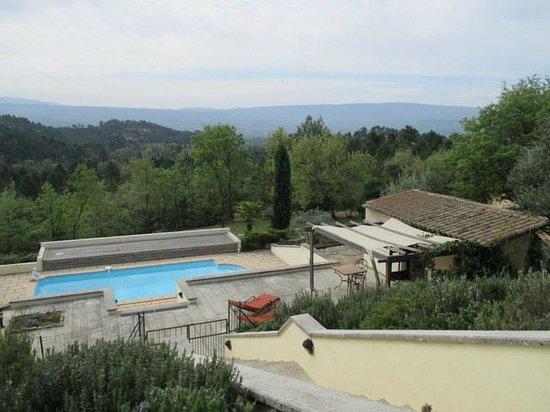 Chez Soi en Luberon : Quelle vue !!