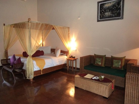 Junjungan Ubud Hotel and Spa: Comfortable bed