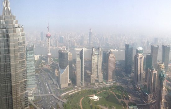 Park Hyatt Shanghai: Amazing view from the 82nd floor