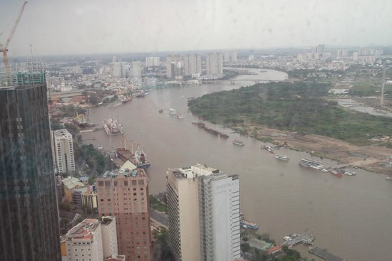 Grand Hotel Saigon: Views from Bitexco tower