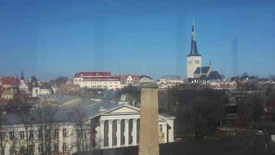 Nordic Hotel Forum: view from the relaxation center on 8th floor