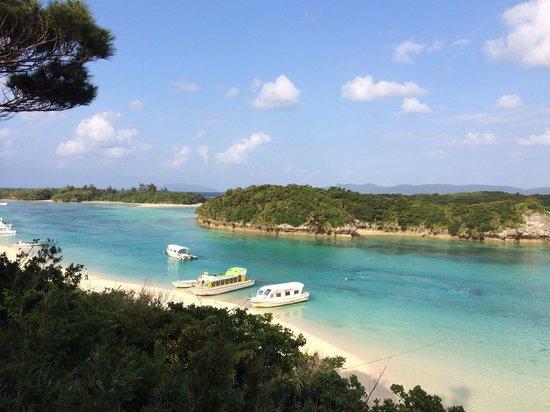 Yadoya Kabira Yu-naya: 徒歩5分の川平湾