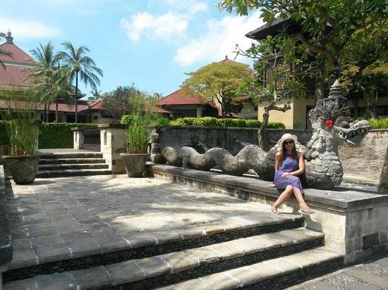 INTERCONTINENTAL Bali Resort: Hotelareal