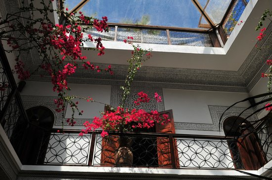 Riad Les Nuits de Marrakech: patio