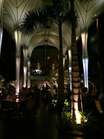 The Kunja Villas & Spa: Merah Putih (fine dining restaurant nearby)