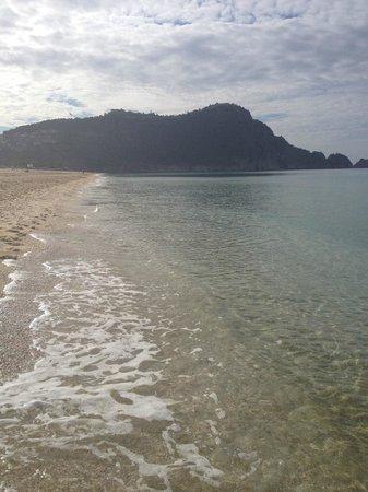 Sunprime Alanya Beach: på stranda