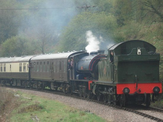 Dean Forest Railway: and then a double header to get the locos back home