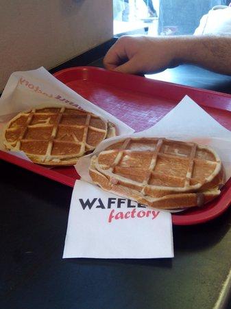 Waffle Factory: De nutella