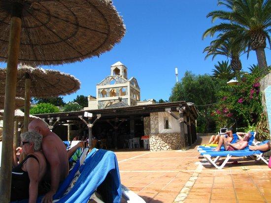SBH Monica Beach : widok z basenu