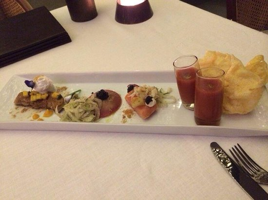 The Grill : tasting platter a good start