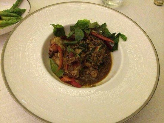 The Grill : Thai style King prawn yummy
