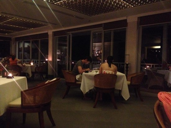 The Grill: romantic environment