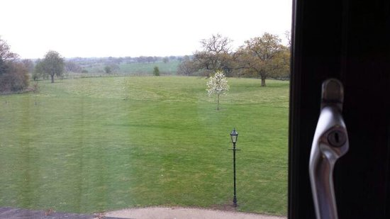 Rookery Hall Hotel & Spa : Our view