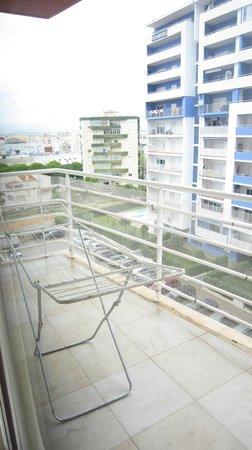Flamingo Residence: terraza