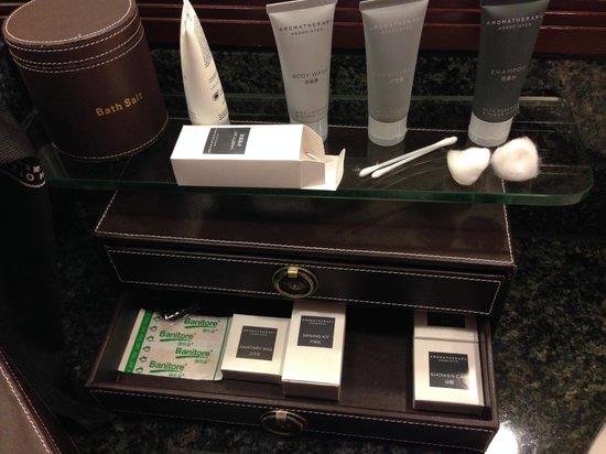 JW Marriott Hotel Hong Kong: Amenities not very luxe