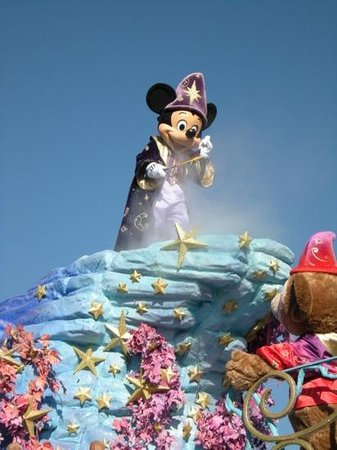 Disney's Hotel New York : Disney park parade