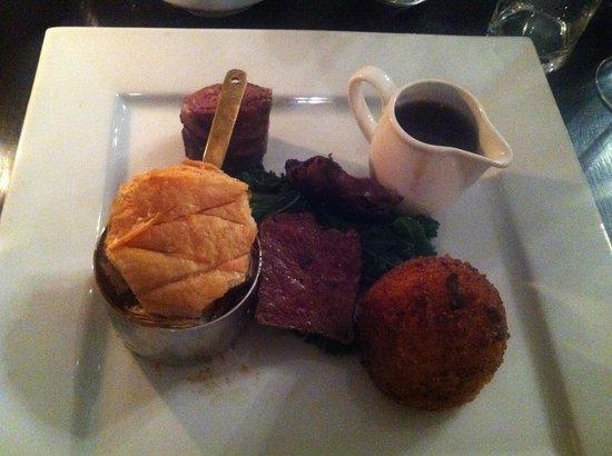 31 Castlegate Restaurant: Lovely presentation- lacking in flavour. The venison