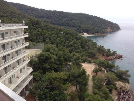 Sirene Blue Resort : A cloudy day from the roof bar.