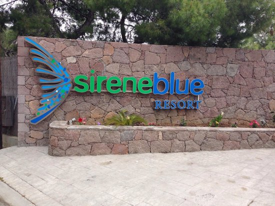 Sirene Blue Resort : At the end of the road lies this magic place.