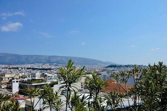 Acropolis View Hotel : Вид с балкона отеля