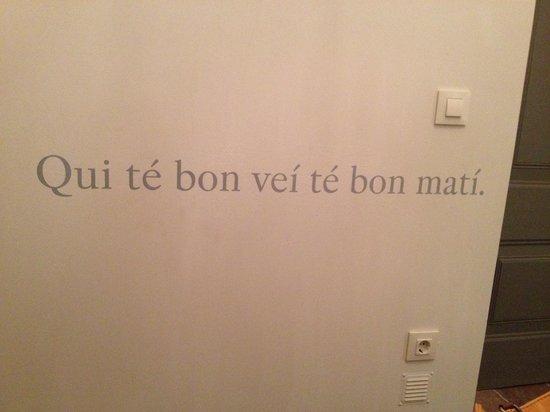 Cluc Hotel Begur: Frase habitación