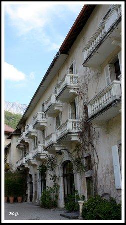 Restaurant Gastronomique de L'Abbaye de Talloires : Balcons à foison