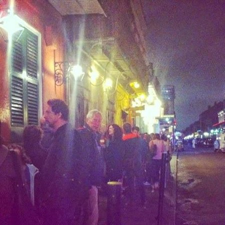 Preservation Hall: queue