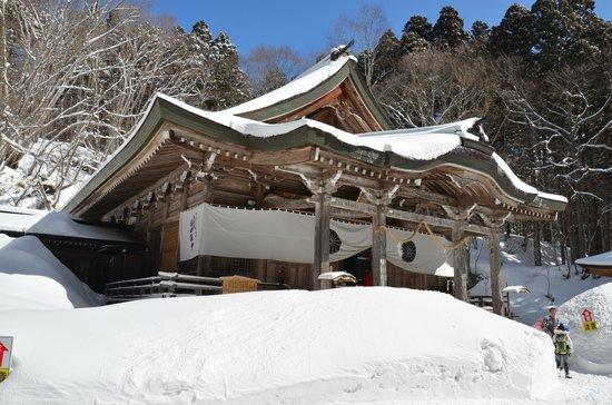 Togakushi Shrine Okusha: Hauptgebäude