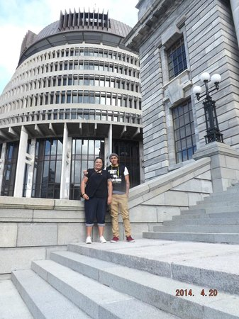 Les bâtiments du Parlement : We made it to the Beehive