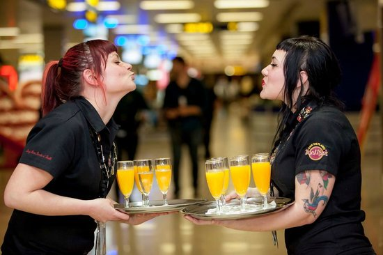 Hard Rock Cafe Malta: Hard Rock Bar Malta International Airport - Our Rockers