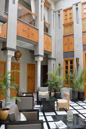 Riad l'Etoile d'Orient: Lobby