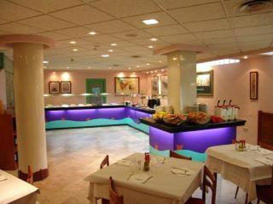Hotel Oasis Plaza: Este es el comedor, es un buffet libre.
