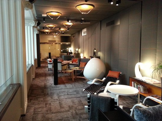 Radisson Blu Plaza Hotel, Helsinki: Lounge area