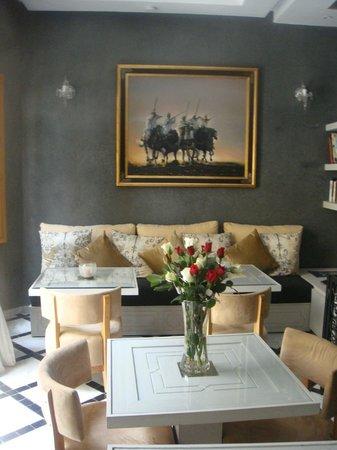 Riad l'Etoile d'Orient : Breakfast room