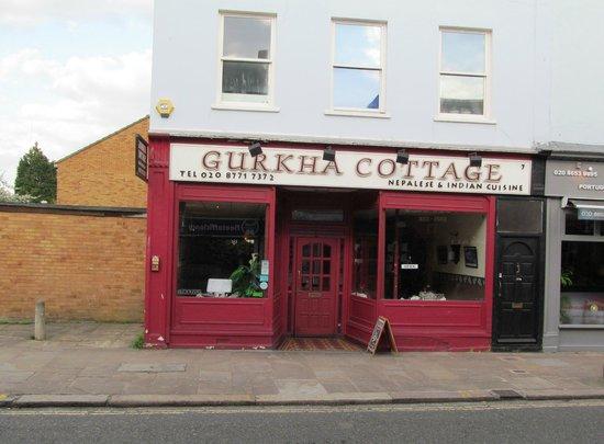 Gurkha Cottage : Exterior view of restaurant