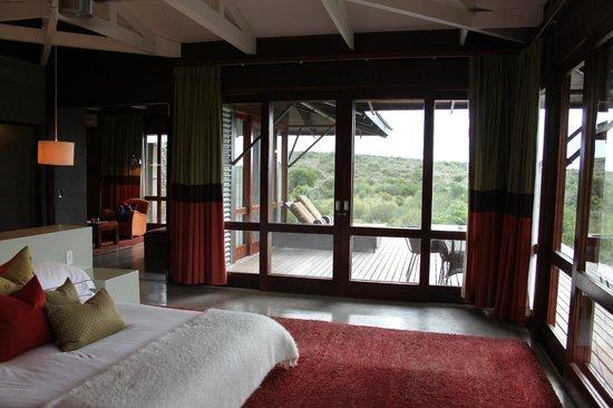 Kwandwe Ecca Lodge: Bedroom