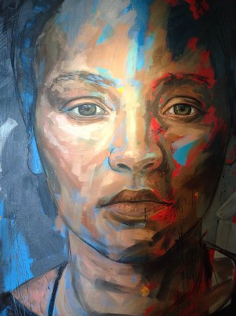 Delaire Graff Estate: Lionel Smit painting