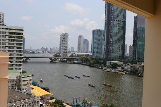 Mandarin Oriental, Bangkok : view from the superior room (1124)