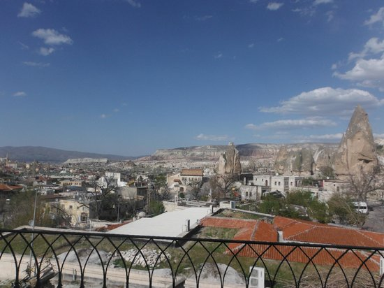 Cappadocia Cave Suites: view from the terrace outside the room