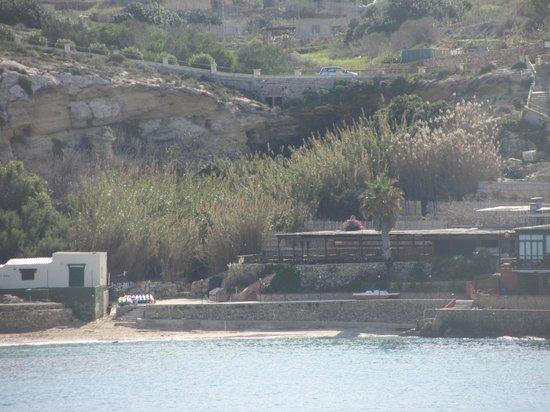 Blick vom Hotel Paradise Bay