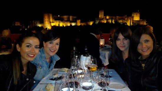 Carmen Mirador de Aixa : Vista desde la terraza