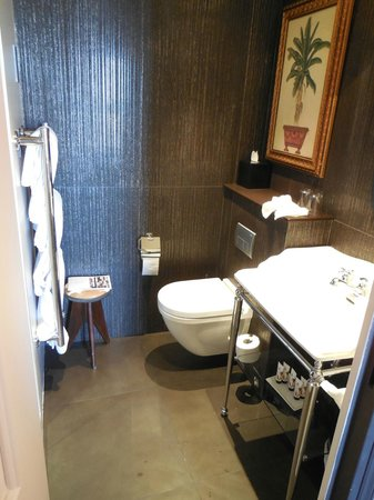 Hotel les Dames du Panthéon : Small but very nice bathroom.
