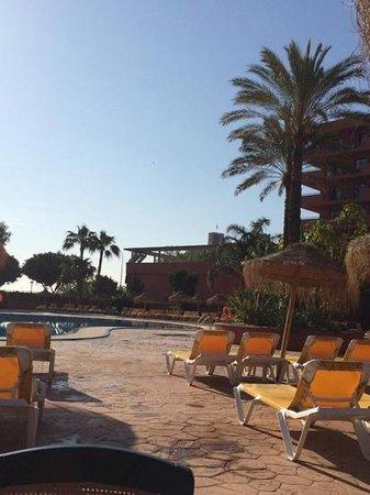 Fuengirola Beach Aparthotel: view from poolside bar