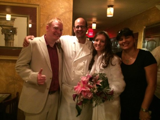 Salt N Pepper Bistro : Me & my wife with Chef Jean-Claude & his wife