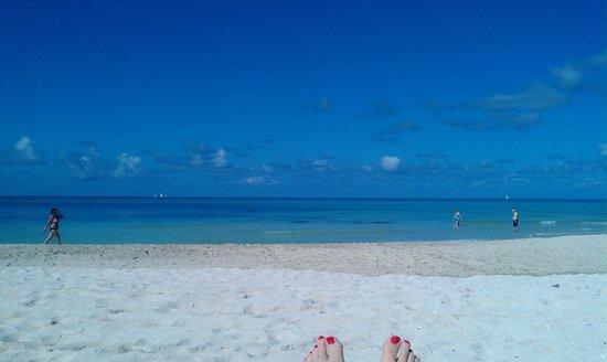 Paradisus Varadero Resort & Spa: gorgeous blue sea