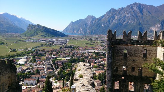 Residenza Le Due Torri: View over Arco (beautyful town nearby)