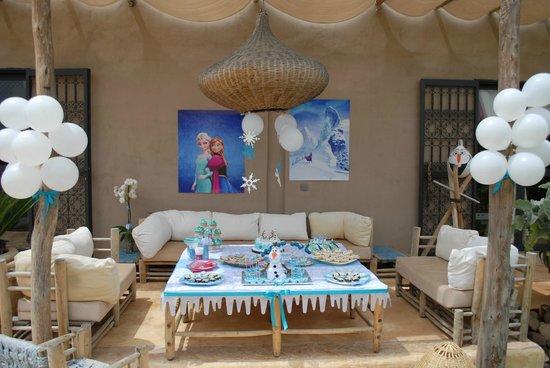 Patisserie Amandine Marrakech : buffet FROZEN